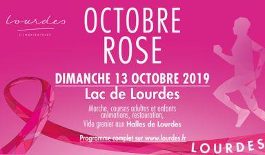 Lourdes aux couleurs d'Octobre Rose - Rendez-vous le 13 octobre au Lac