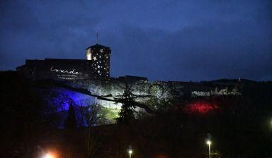 Mapping Lumineux sur le Château fort