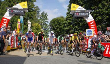 Retour en images - Tour de France 2018 à Lourdes