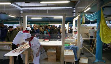 """Succès pour la dégustation des """"Pizzas du Pape"""""""
