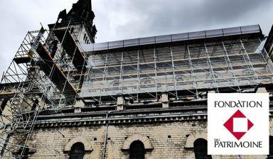 Travaux de l'Eglise du Sacré-Coeur de Lourdes