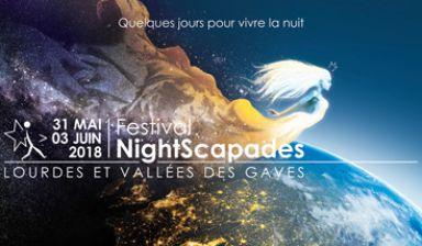 Festival NightScapades : 31 mai > 03 juin 2018