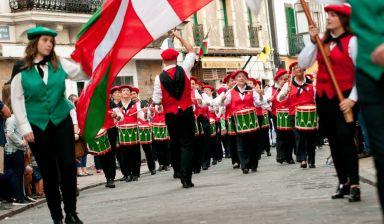 Tamborrada de San Sebastian, dimanche 27 juillet 2018