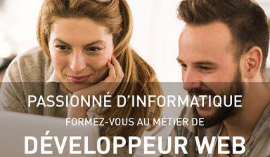 Formation Développeur Web, Web Mobile - Session 2020