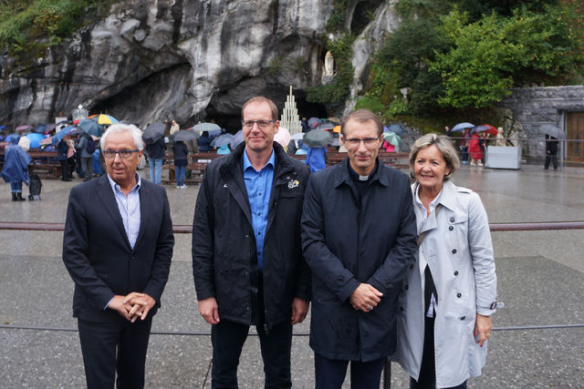Visite repérage Christian Prudhomme - Tour de France 2018 Lourdes