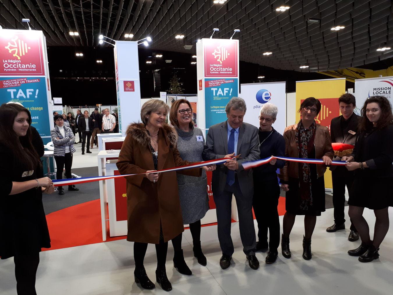 Inauguration du 11e salon de l 39 emploi taf jeudi 18 - Salon du taf perpignan ...