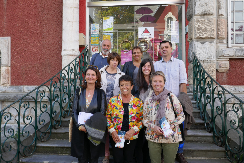 Les différents partenaires du projet RDV en famille