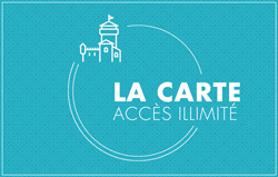 carte acces illimite chateau fort lourdes individuel
