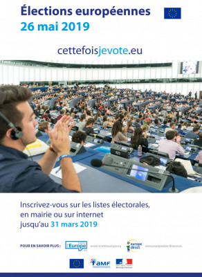 elections europeennes 2019 affiche