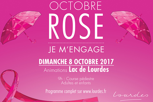 Octobre rose 2017 à Lourdes
