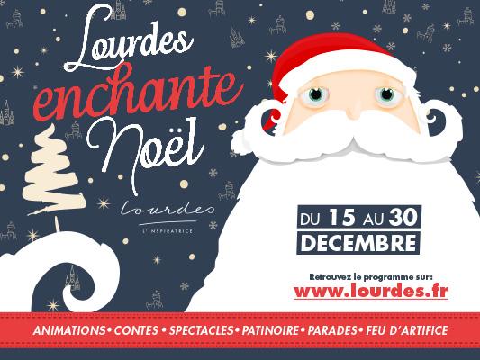 Lourdes enchante Noel