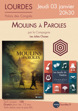 Affiche Moulins à Paroles