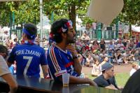 Diffusion des matchs de la coupe du monde sur grand écran