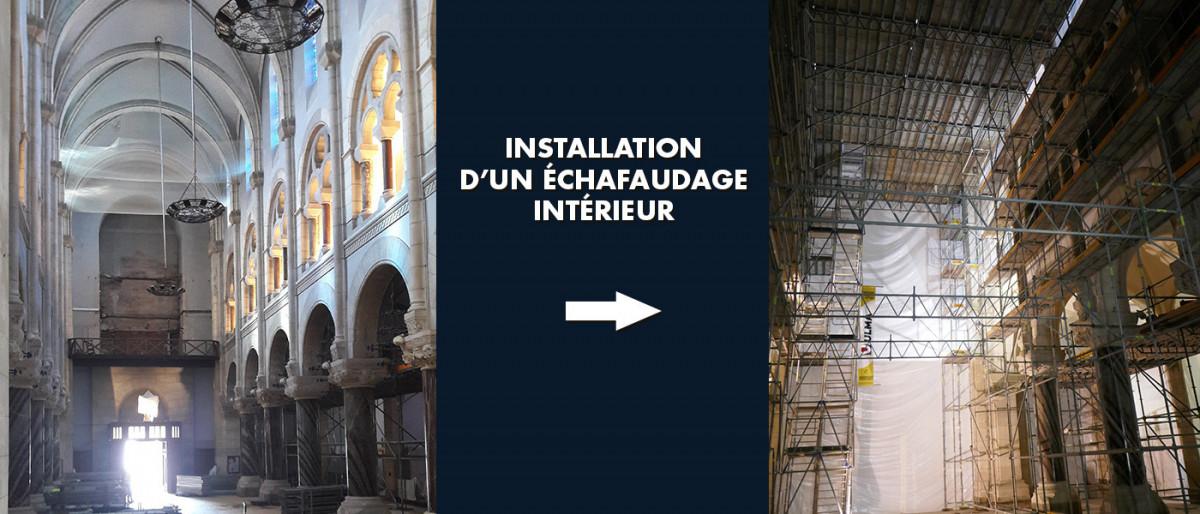 avancement-travaux-echafaudage-interieur
